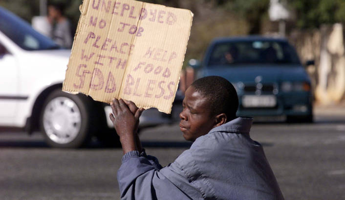 Africa's unemployment figures 'frightening'