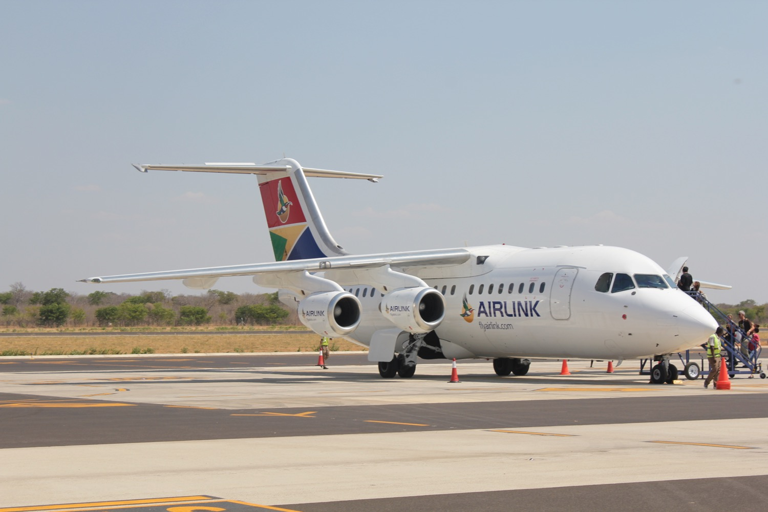 SA Airlink upgrades aircraft for Vic Falls route
