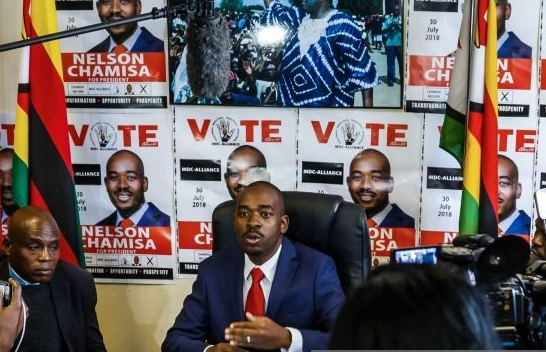 Chamisa calls for SADC, AU to protect election