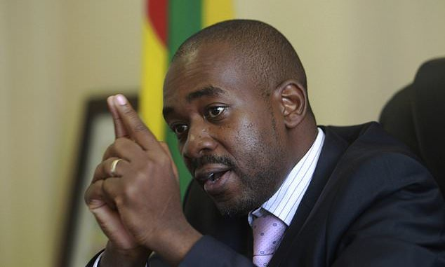 The story about Chamisa's wife