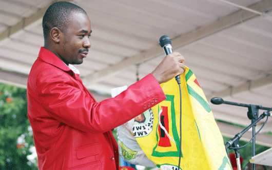 Chamisa speaks about military links