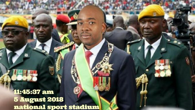 Chamisa 'inauguration' rally cleared by police?