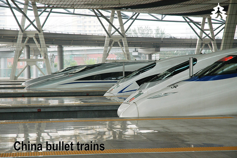 China Railways officials jet in