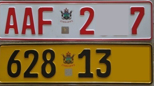 Zimbabwe's CVR runs out of number plates