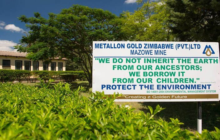 Metallon halts Mazowe mine operations