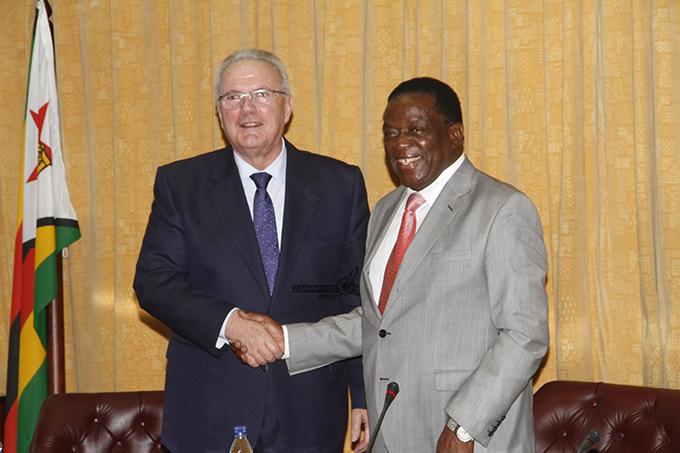 EU ready to partner Zimbabwe