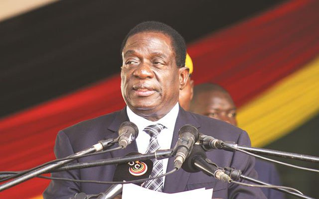 Mnangagwa begs for sanctions removal