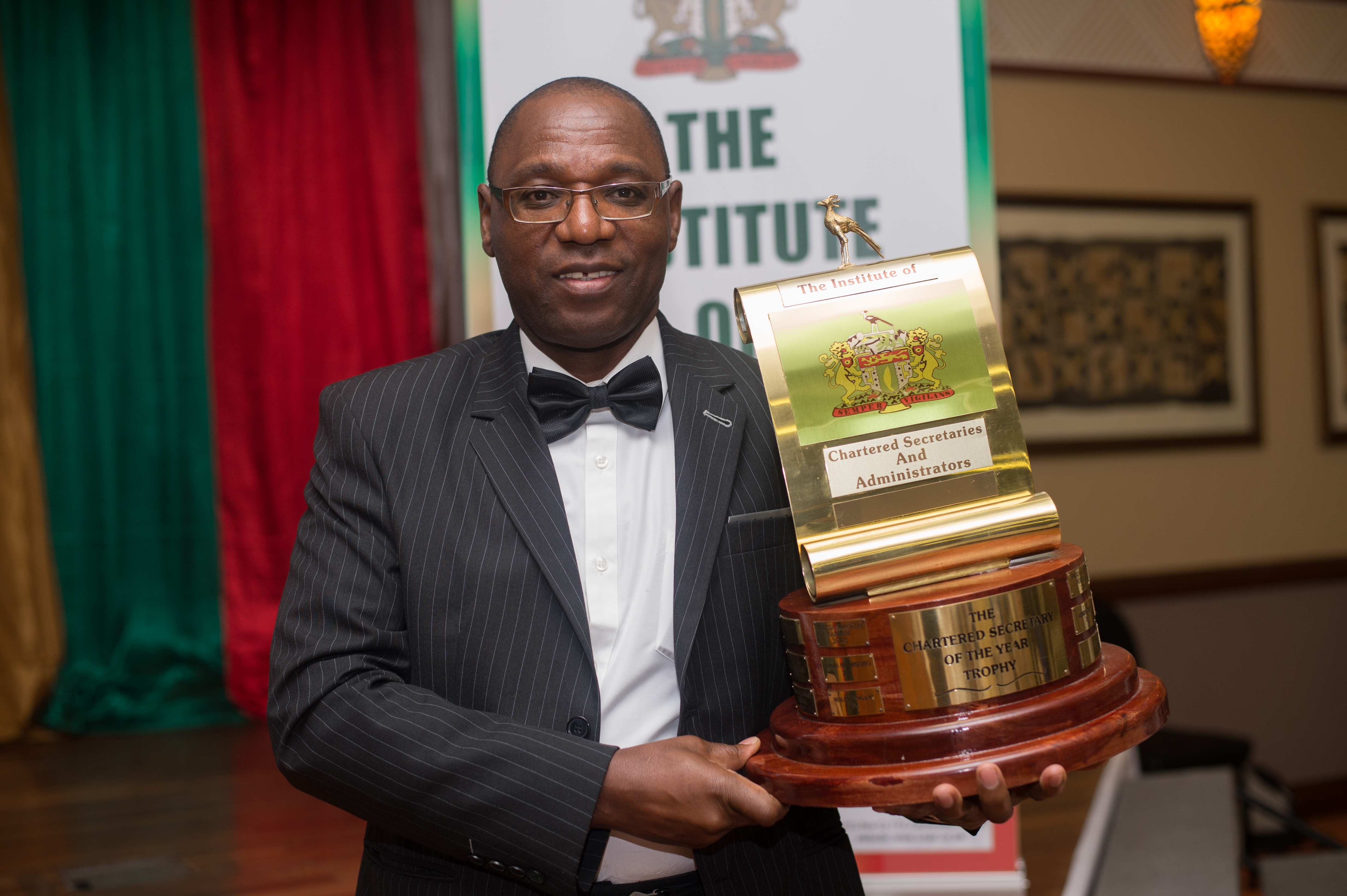 Aiden Mhere declared Chartered Secretary of the Year