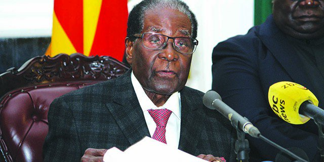 Mugabe refuses to go quietly