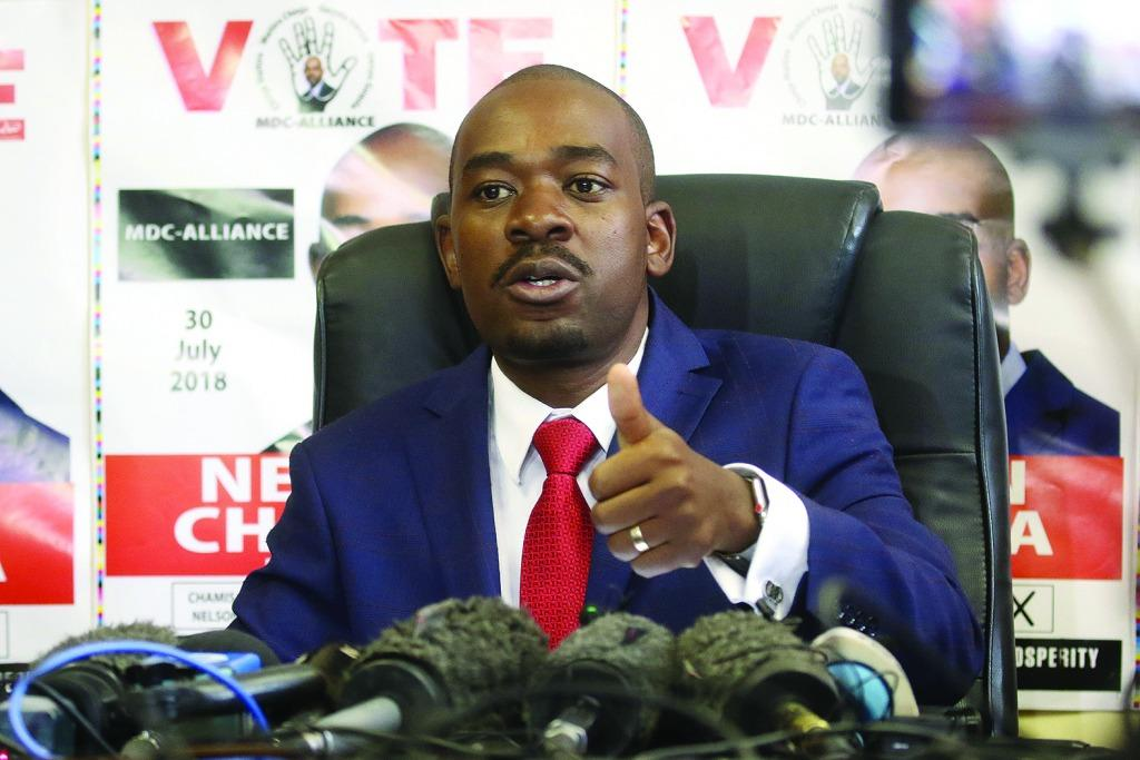 Chamisa's bitter MPs awaits Mnangagwa in Parly