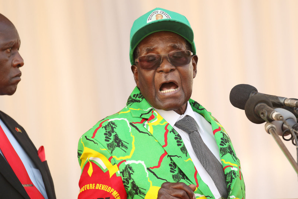 Mugabe breathes fire in court