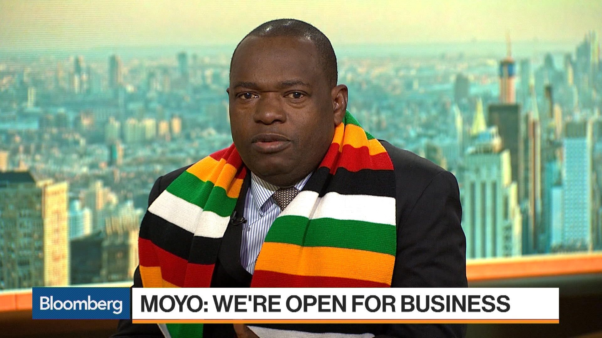 WATCH: General Moyo says Zim is open for business