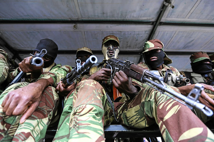 Civil society activists on Zimbabwe military watch list