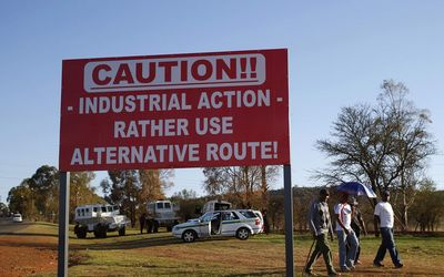 Mine workers in 3-day underground strike