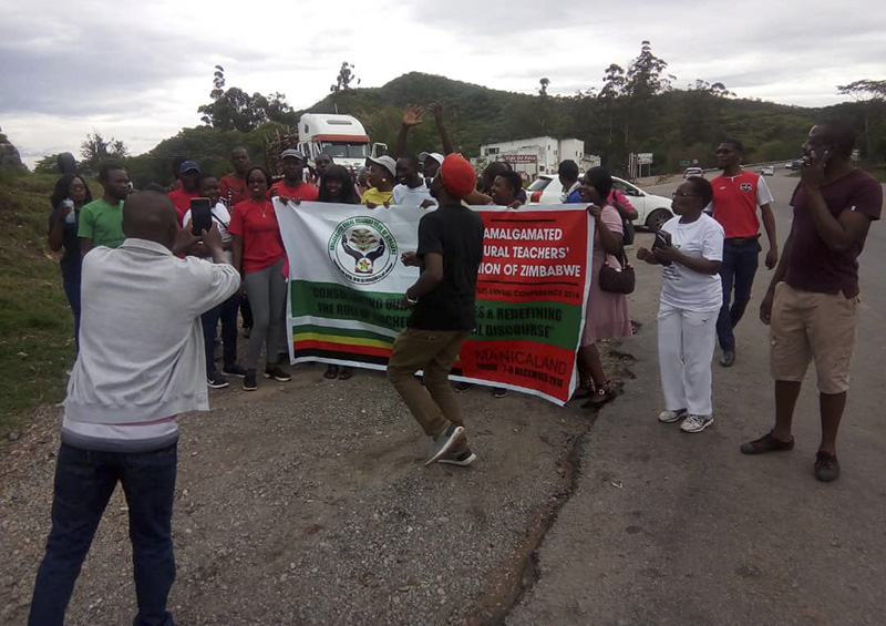 Protesting teachers buoyant despite arrests