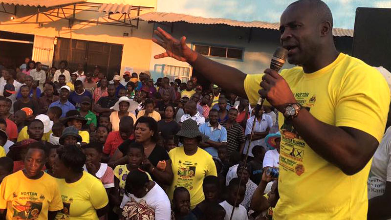 Mliswa has unfinished business in Norton