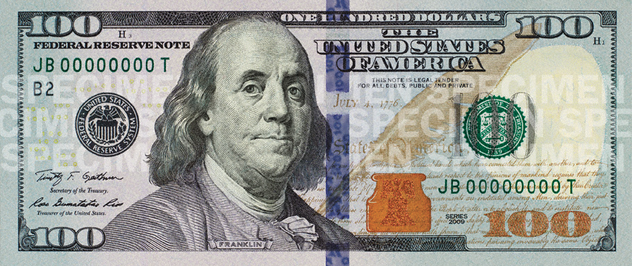 US launches new $100 banknote