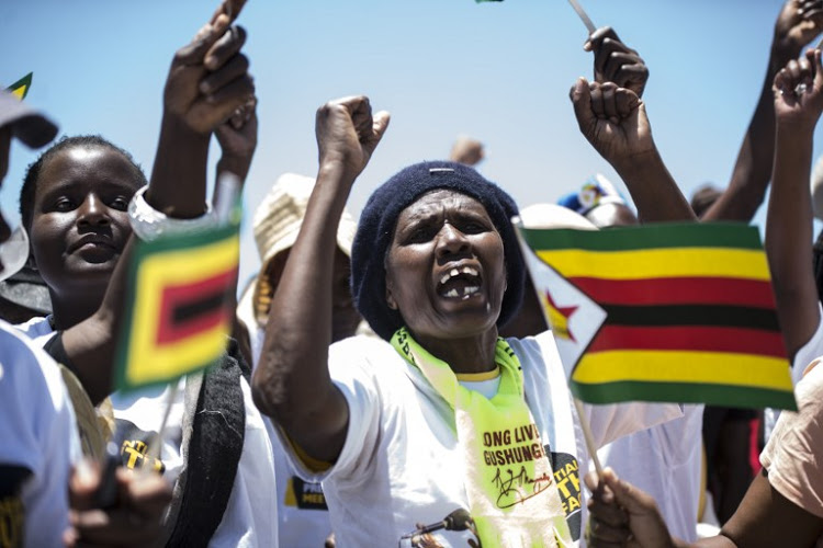 Zanu-PF celebrates terror leader return