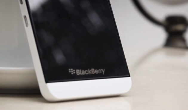 BlackBerry unveils the Z30 as its new flagship