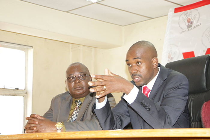 Chamisa opens door for MDC campaigns