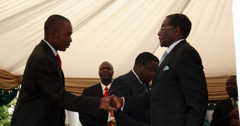 Chamisa dismisses Mugabe ties