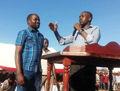 Chamisa 'employs' underfire prison officer