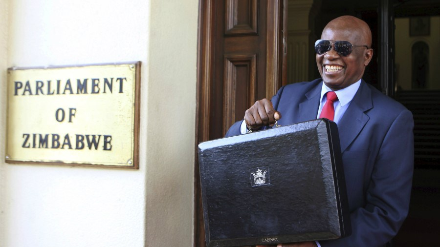 Zimbabwe's budget deficit rose to $1.4 billion