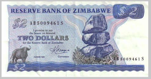 'Zimbabwe must have own currency'