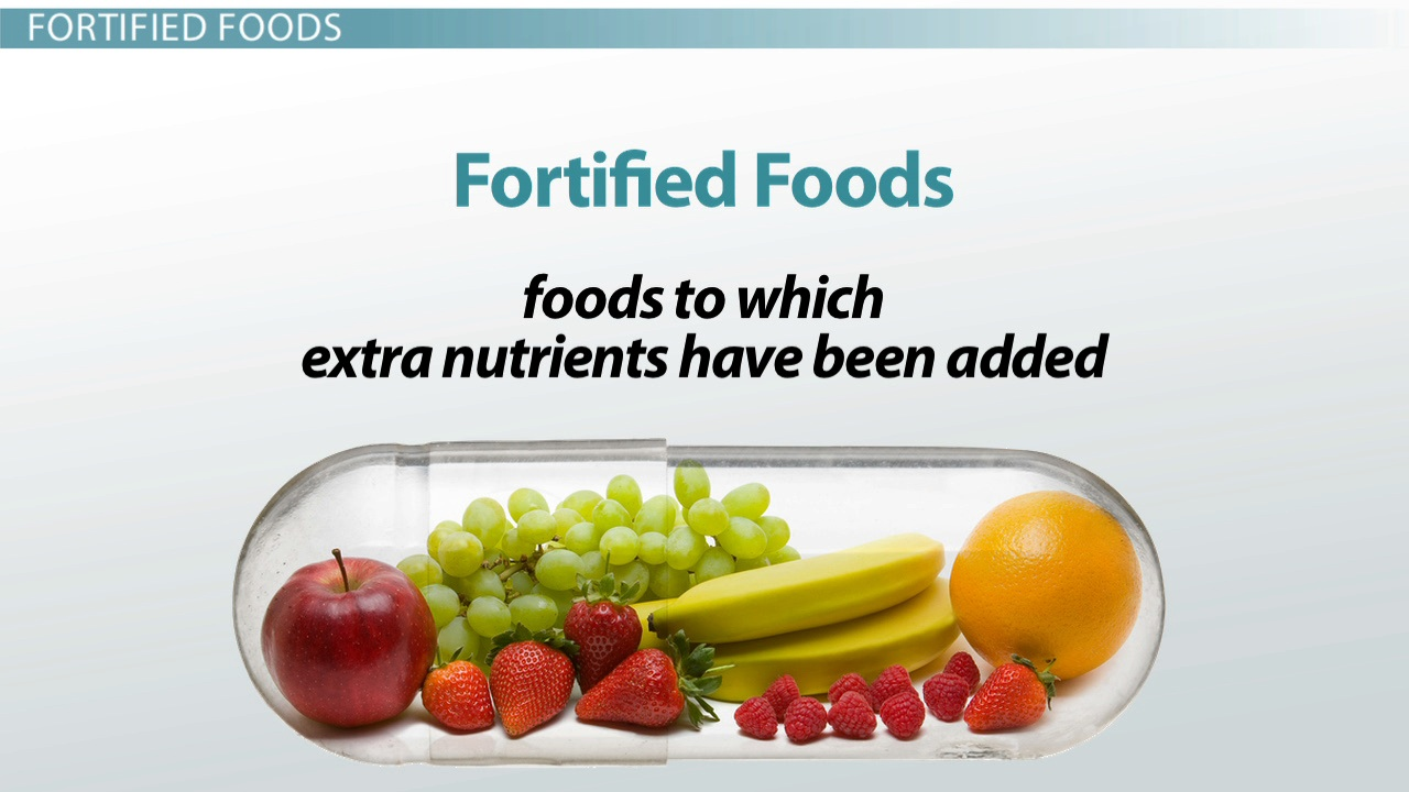 Companies comply with food fortification