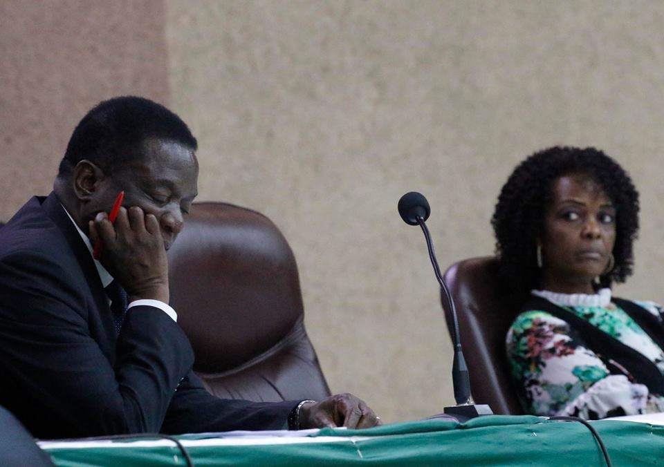 Mnangagwa felt sorry for Grace Mugabe