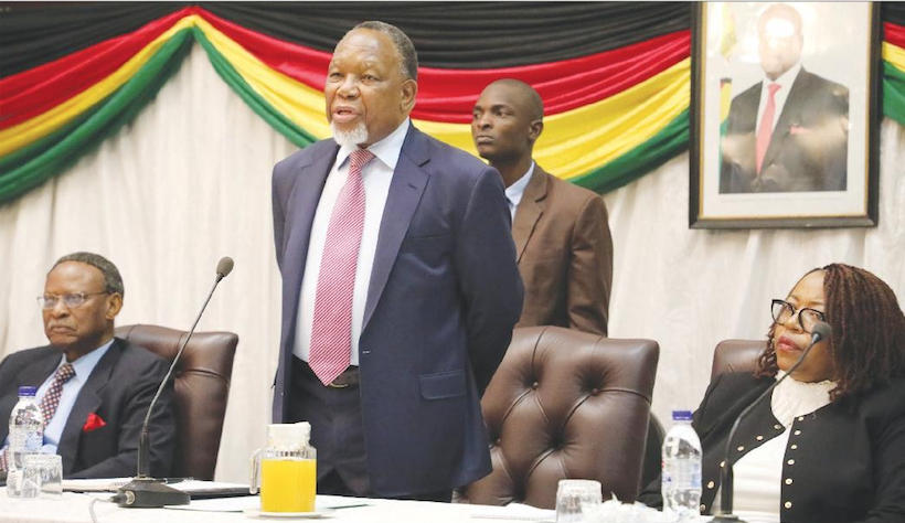 Chamisa gives in, to appear before Motlanthe-led commission