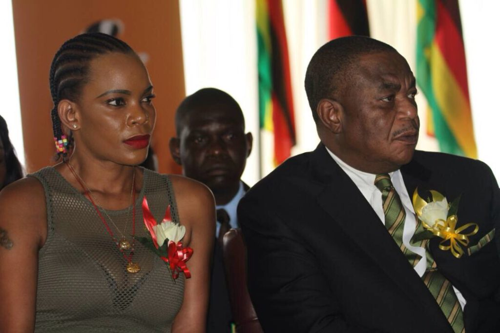Chiwenga bans wife from hospital