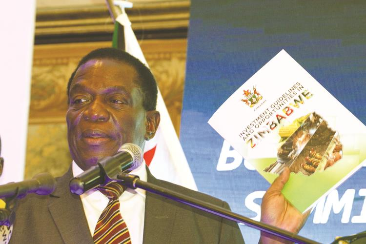 Mnangagwa admin pulls in $2.6bn lithium project