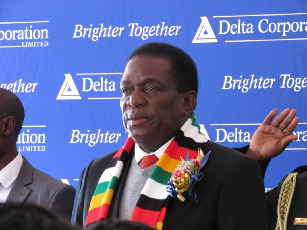 Mnangagwa tells Delta to explore foreign markets