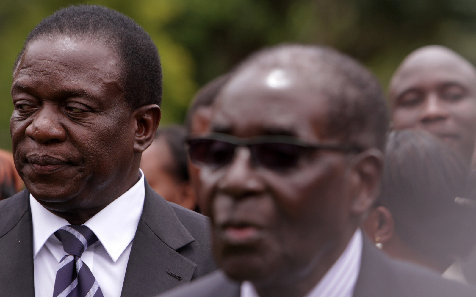 Mnangagwa told to stop harassing Mugabe