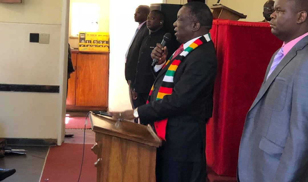 Mnangagwa's dialogue initiatives aren't genuine, says Muzorewa