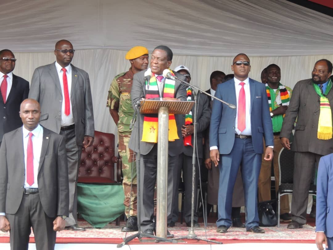 Mnangagwa tells white farmers 'You are part of us'