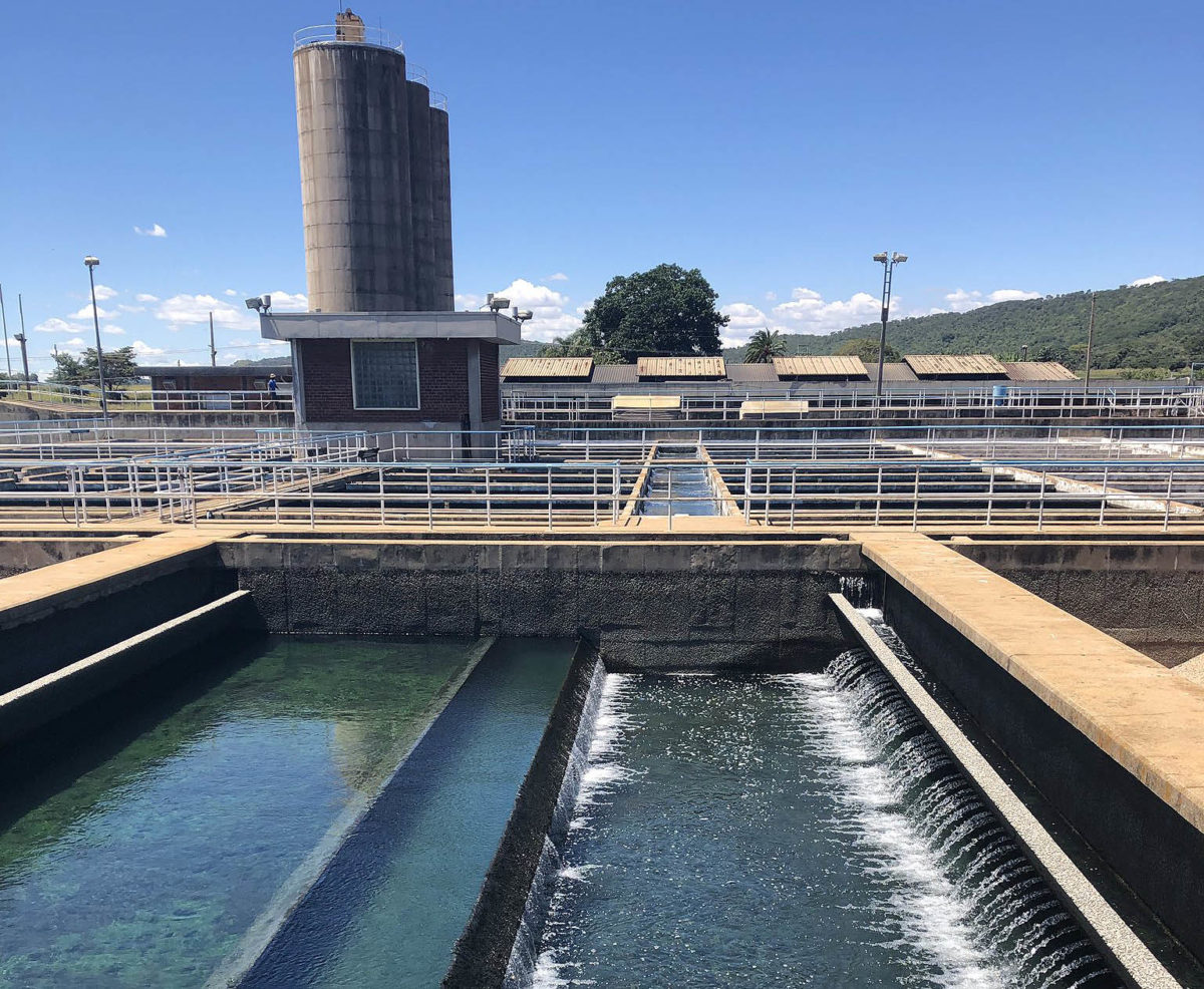 Harare shuts down its main water works