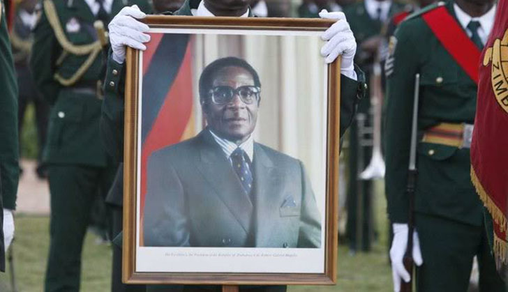 Minister demands Mugabe portrait removal