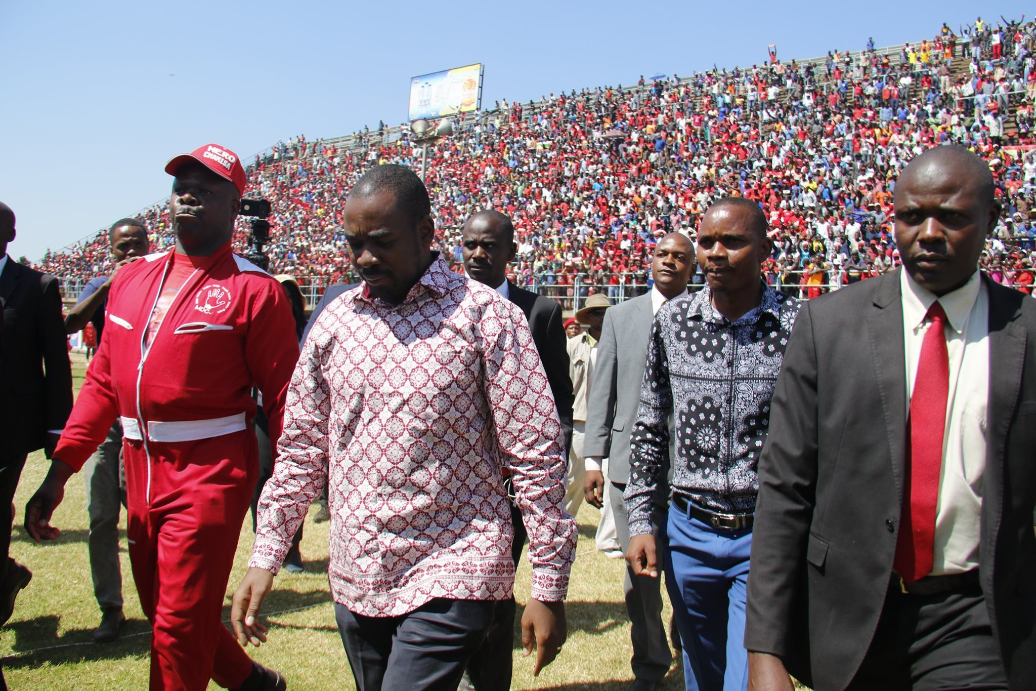 'Change is coming,' says Chamisa