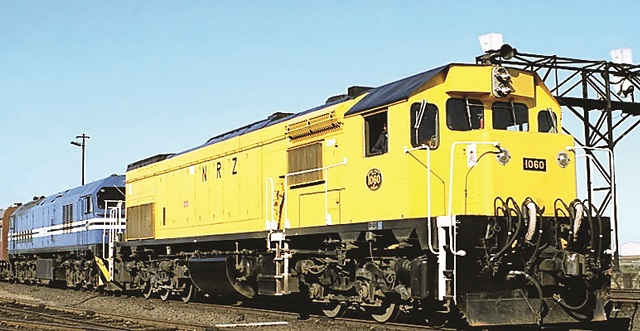 NRZ equipment arrives from South Africa