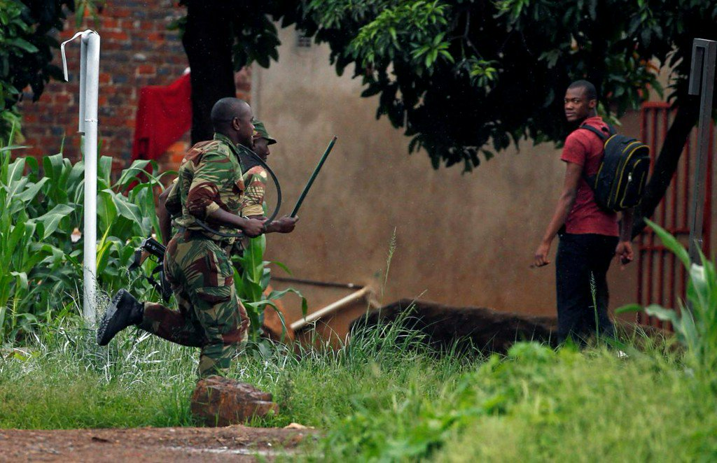 Zimbabwe soldiers leave ugly terror trail