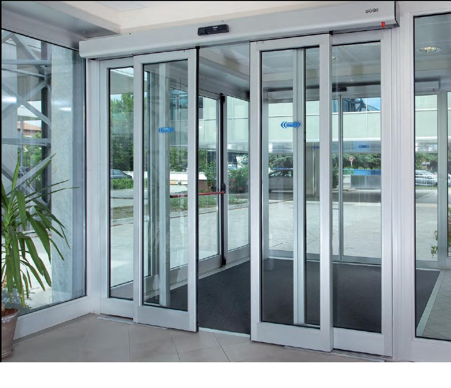 Safeguard introduces multipurpose automatic sliding doors for Motorized sliding glass door