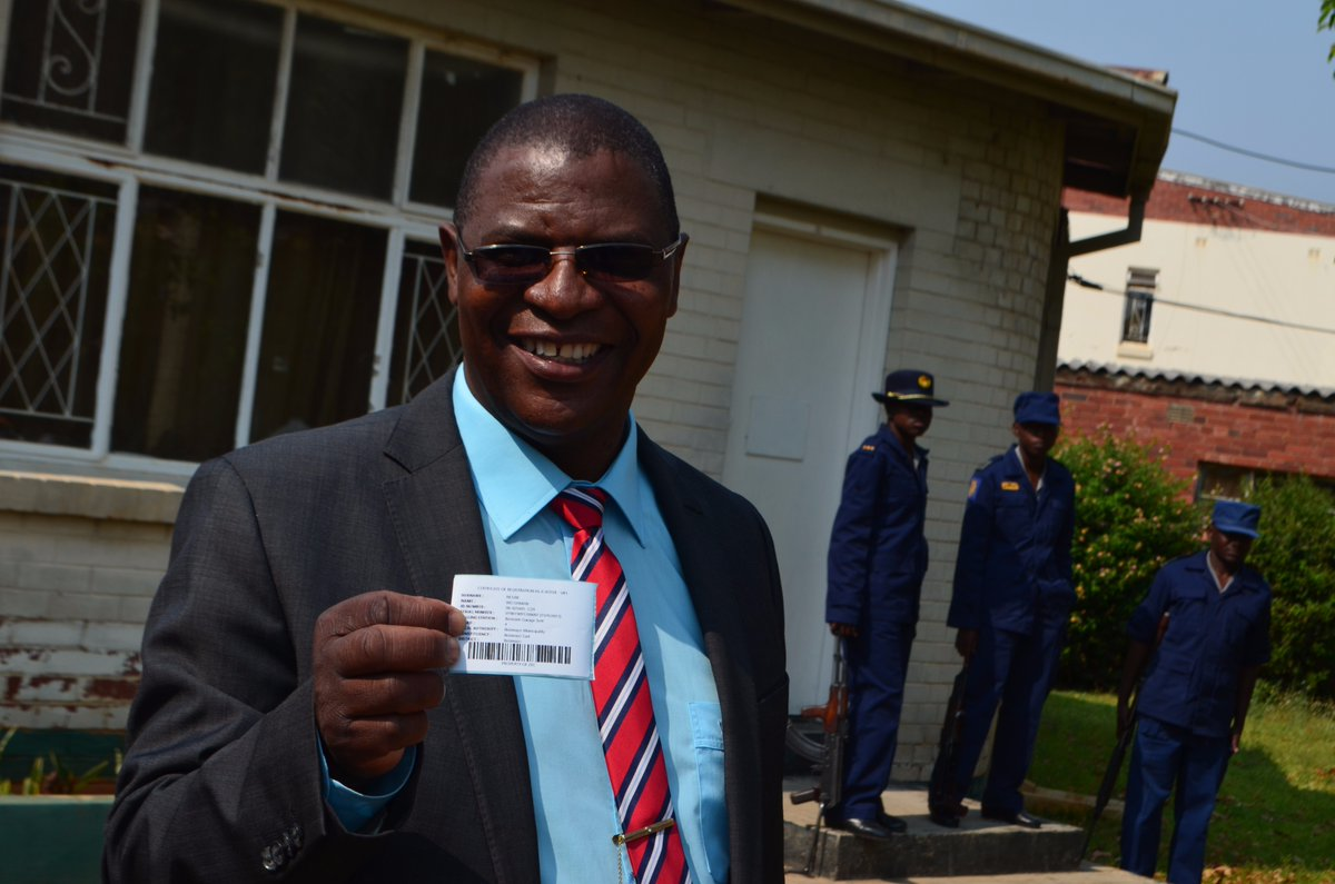 Welshman Ncube not contesting for parly